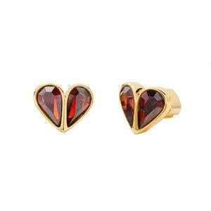 ❤️Kate Spade Rock Solid Stone Small Heart Studs
